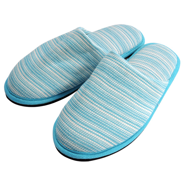Pure Cotton Closed Toe Home Slippers